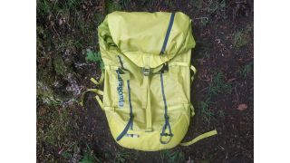 The front of the Patagonia Ascensionist