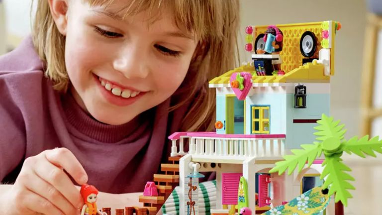 Lego gift from Argos: beach dollhouse set