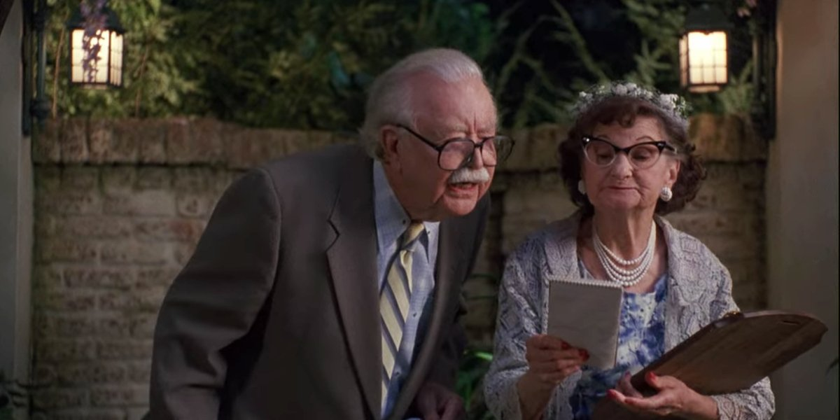 Bille Bird and Bill Erwin in Dennis The Menace