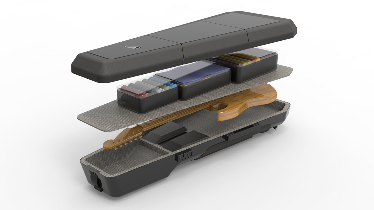 The Kapsule might just be the ultimate guitar case for touring musicians | MusicRadar