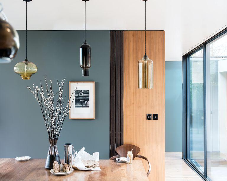Dining room in De Nimes, Farrow & Ball