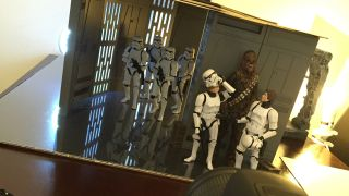 Create cool scenes from films using action figures