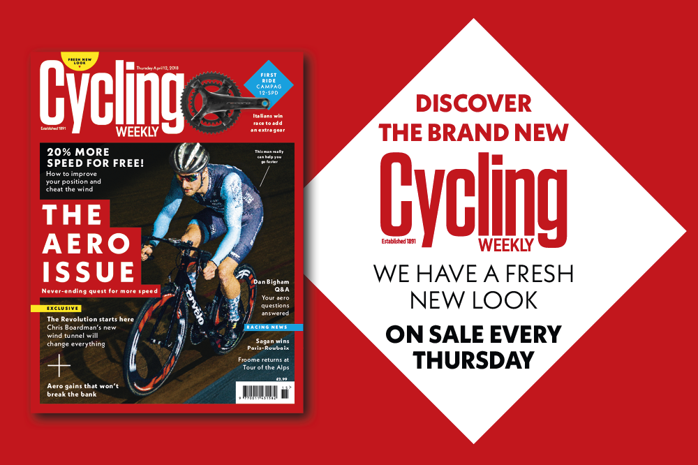 Cycling Weekly: Fresh new look