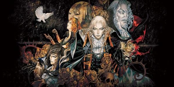Castlevania: Symphony of the Night cast artwork
