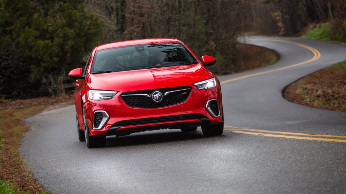 The Buick Royal GS protects pedestrians with a hood that works like an airbag
