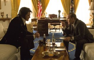 Elvis and Nixon Michael Shannon Kevin Spacey