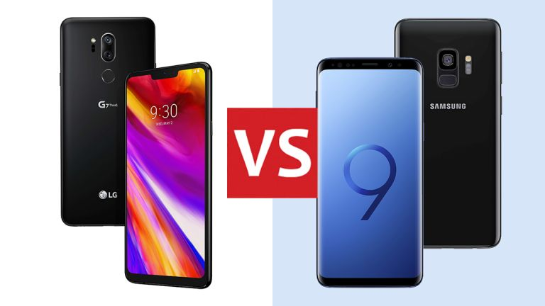 LG G7 ThinQ and Samsung Galaxy S9