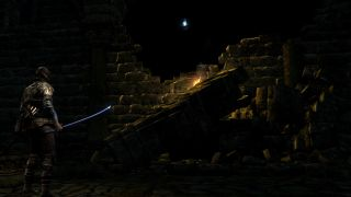 An early screenshot from Nightfall