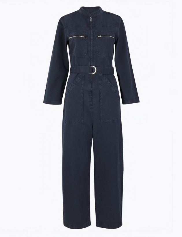 M&S denim bolier suit jumpsuit