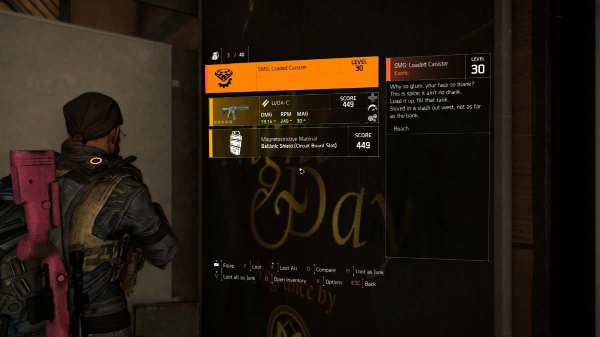 How to get the Chatterbox P90 exotic SMG in The Division 2 | PC Gamer