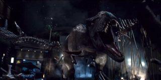 Rexy in Jurassic World