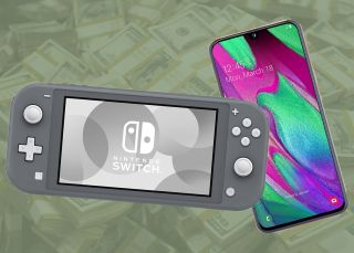 Get a Nintendo Switch Lite completely FREE with a Samsung Galaxy A40