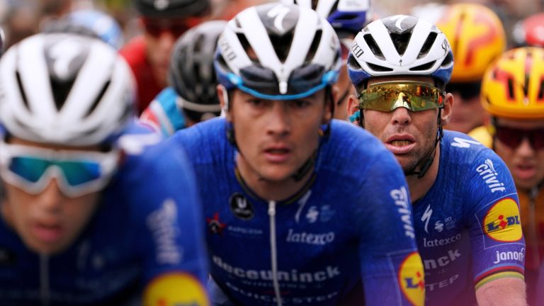 Mark Cavendish of United Kingdom and Team Deceuninck - Quick-Step competes during the 35th Deutschland Tour 2021