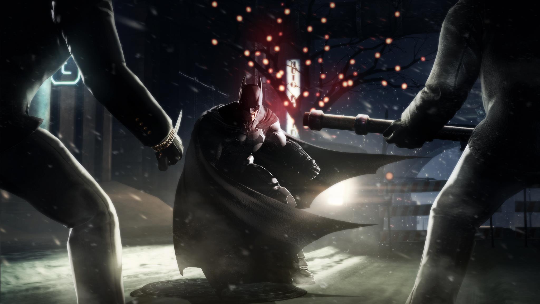 Batman: Arkham Origins Screenshots Are Full Of Christmas Cheer #26512