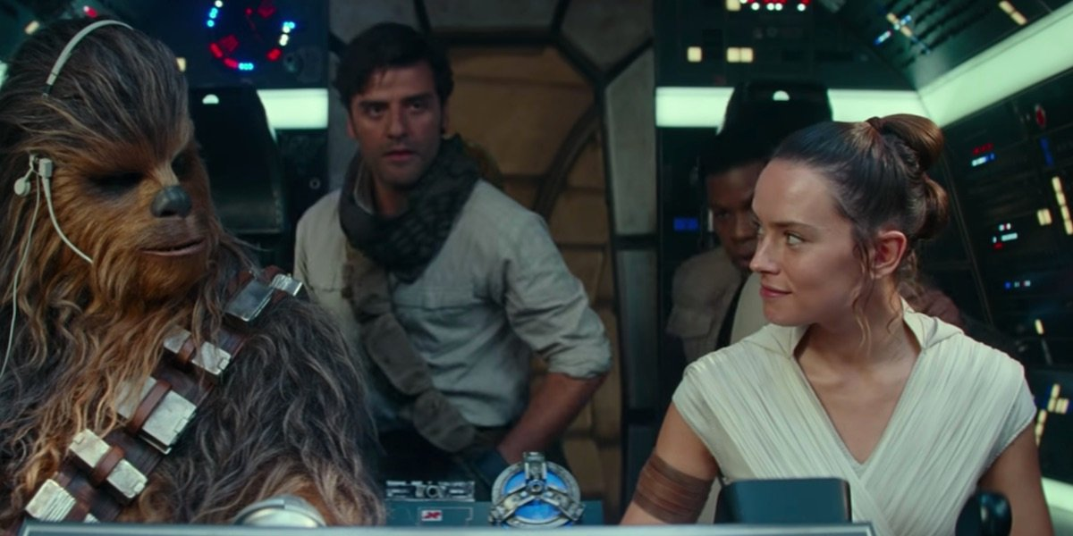 Daisy Ridley Teases Rey S Fricticious Relationship With Poe In The Rise Of Skywalker Cinemablend