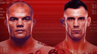 UFC Smith vs. Rakic Fight Night Promotional image
