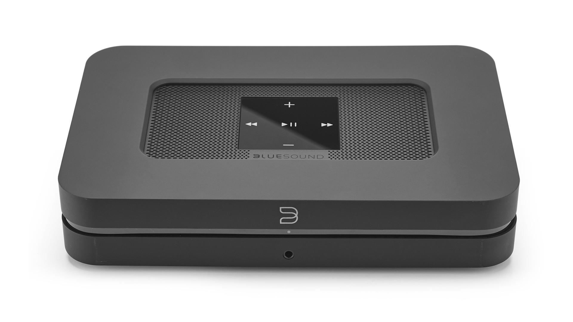 White Hi-Res Wireless Music Streamer/ Bluesound NODE 2