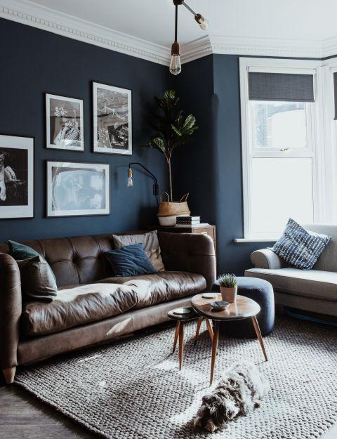 11 Blue Living Room Ideas To Show, Navy Blue Living Room