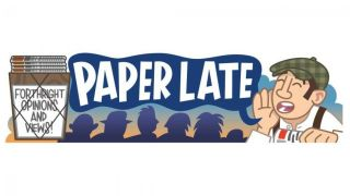 Paperlate cartoon header