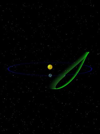 Orbit of Trojan Asteroid 2010 TK7