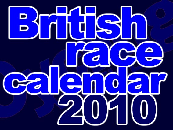 British race caendar 2010 logo