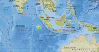 Earthquake Off Sumatra - March 3, 2016