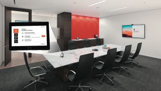 Extron has partnered with GoTo to integrate audio, video, and control technologies with LogMeIn's GoToRoom conference room solution.