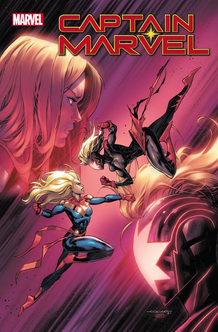 Portada de Capitana Marvel # 32