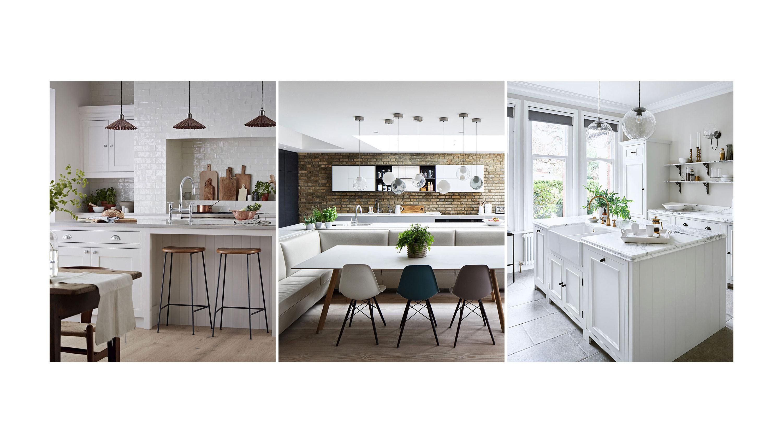 White Kitchen Ideas Decorating Ideas For White Kitchens Homes Gardens