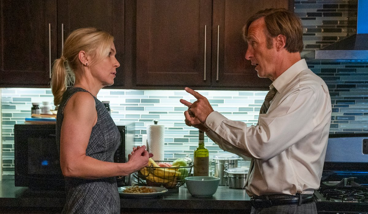 jimmy and kim in the kitchen better call saul season 5