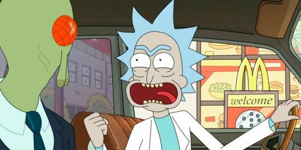 Rick and Morty szechuan sauce mcdonalds