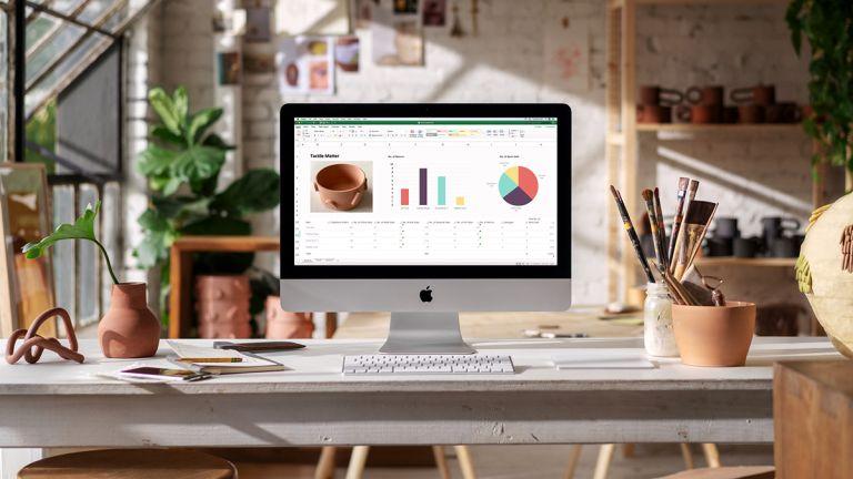 student broadband deals: Apple mac laptop on desk