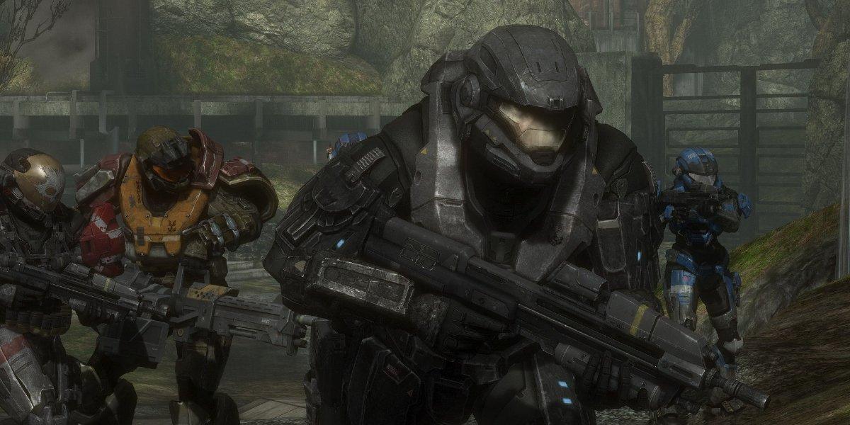 Spartans in Halo Reach