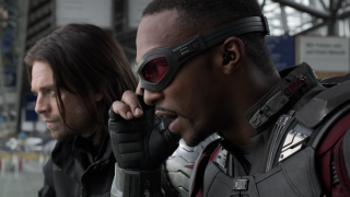 Bucky and Sam in Civil War