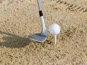 Tee Peg Bunker Drill For Golf