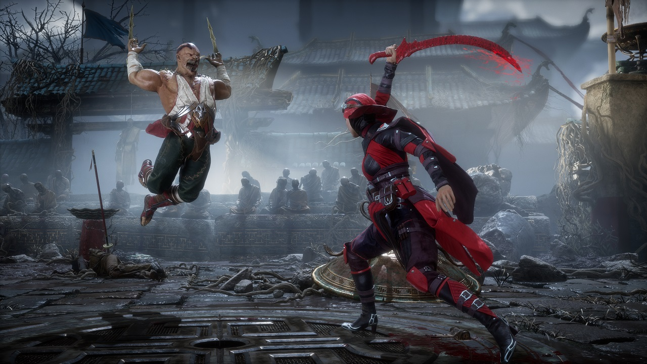 Image result for mortal kombat 11 fight