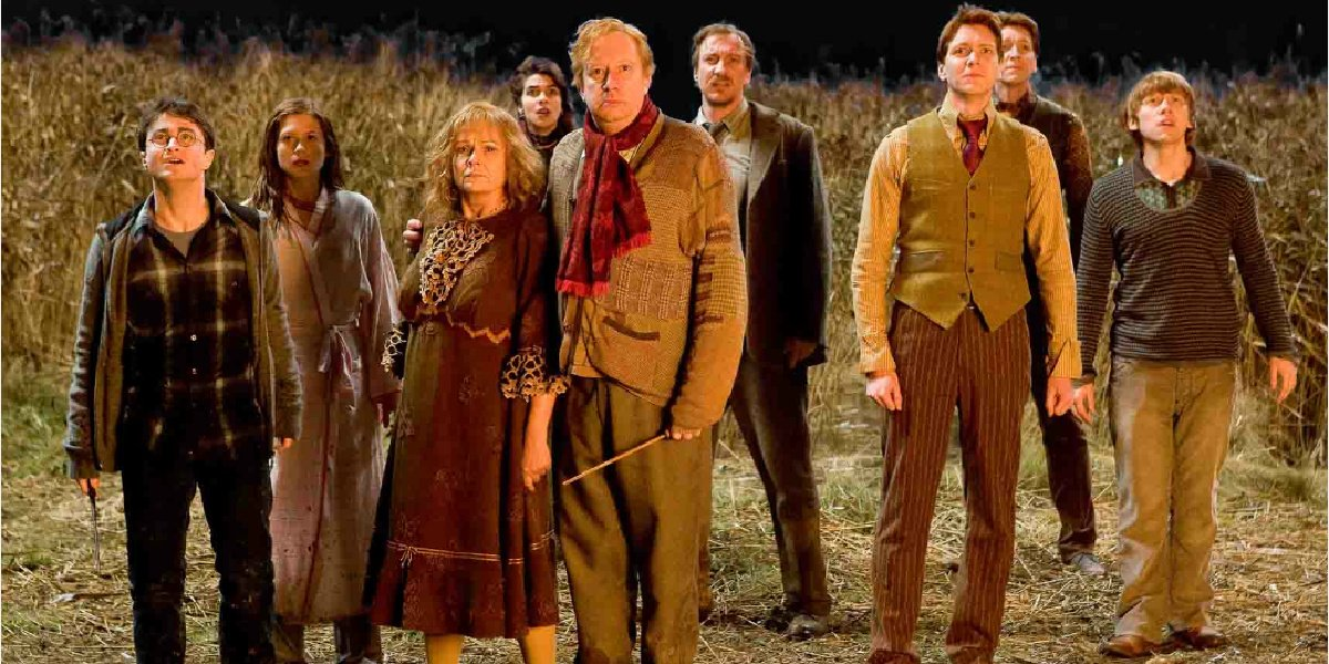 The Weasley family in Harry Potter and the Half-Blood Prince.
