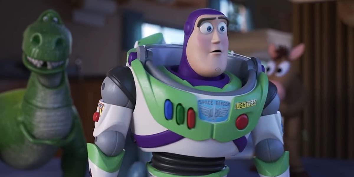 Tim Allen as Buzz Lightyear in Toy Story 4
