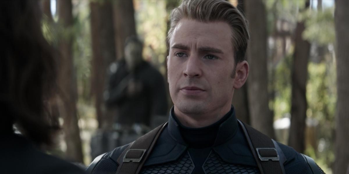 Steve in Avengers: Endgame's final scene