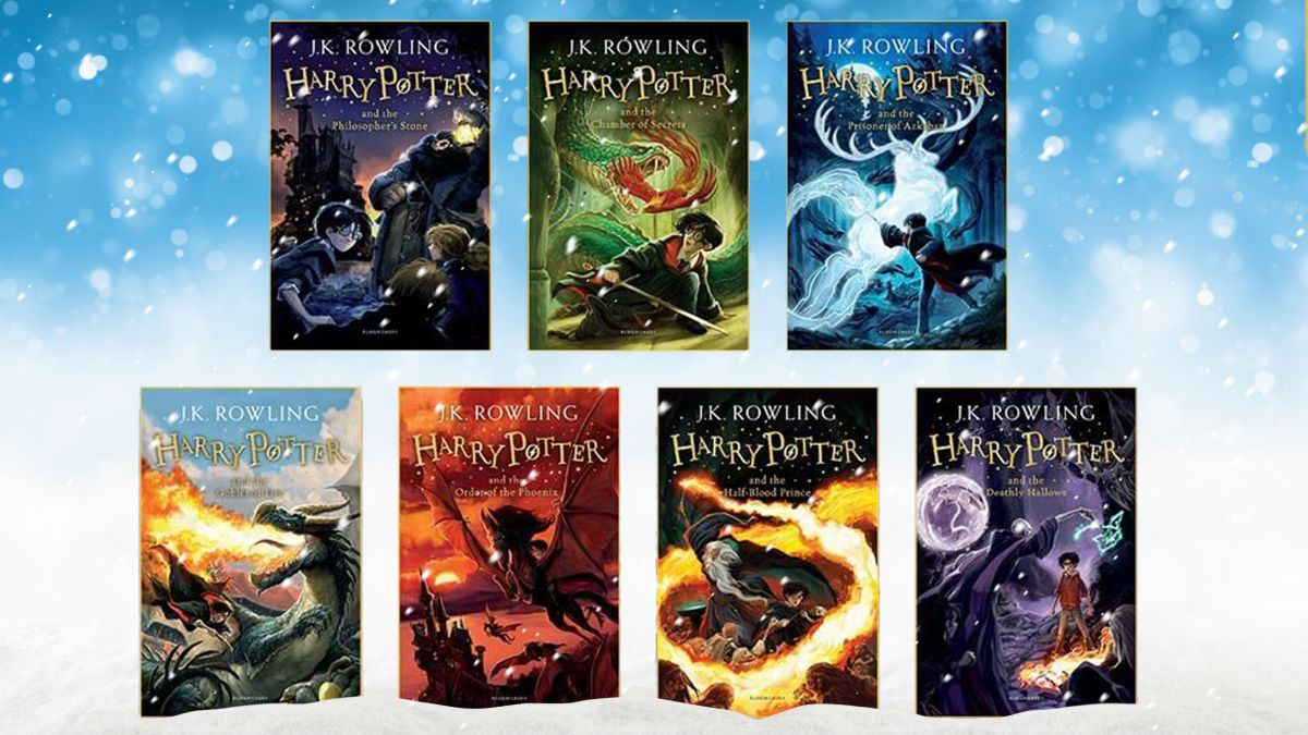 COMPLETE Harry Potter collection is ONLY £20.99 in this MAGICAL Christmas gift deal