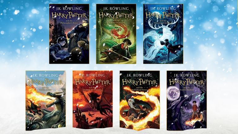 Harry Potter book collection Christmas gift