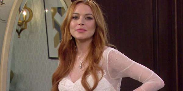 Lindsay Lohan On Two Broke Girls, CBS