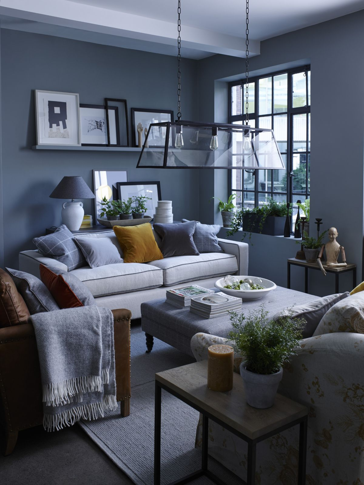 11 Blue And Grey Living Room Ideas To Bring This Dreamy Combo Into Your Home Real Homes