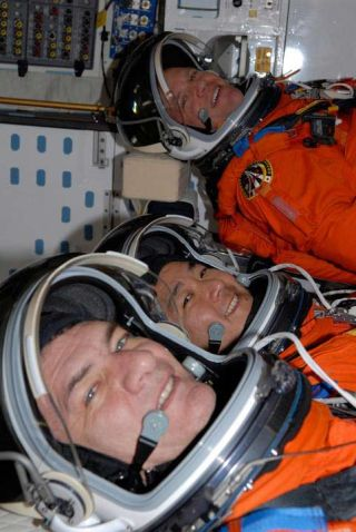 Astronaut Trio Set for Space Station Construction