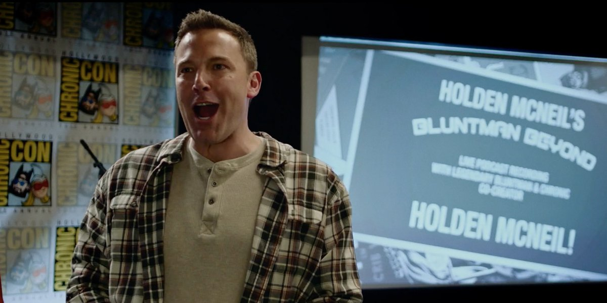 Jay and Silent Bob Reboot Ben Affleck reacts with joy
