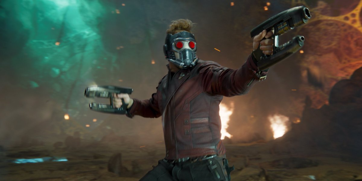 Chris Pratt as Star-Lord in Guardians of the Galaxy Vol. 2 (2017)