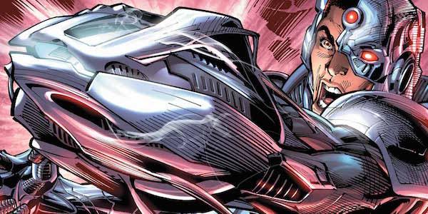 Batman V Superman Cyborg