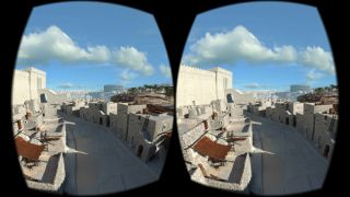 "The ""Lithodomos VR"" app allows people to experience archaeological reconstructions of ancient Jerusalem, at the height of the city's splendor under Roman rule in the first century."