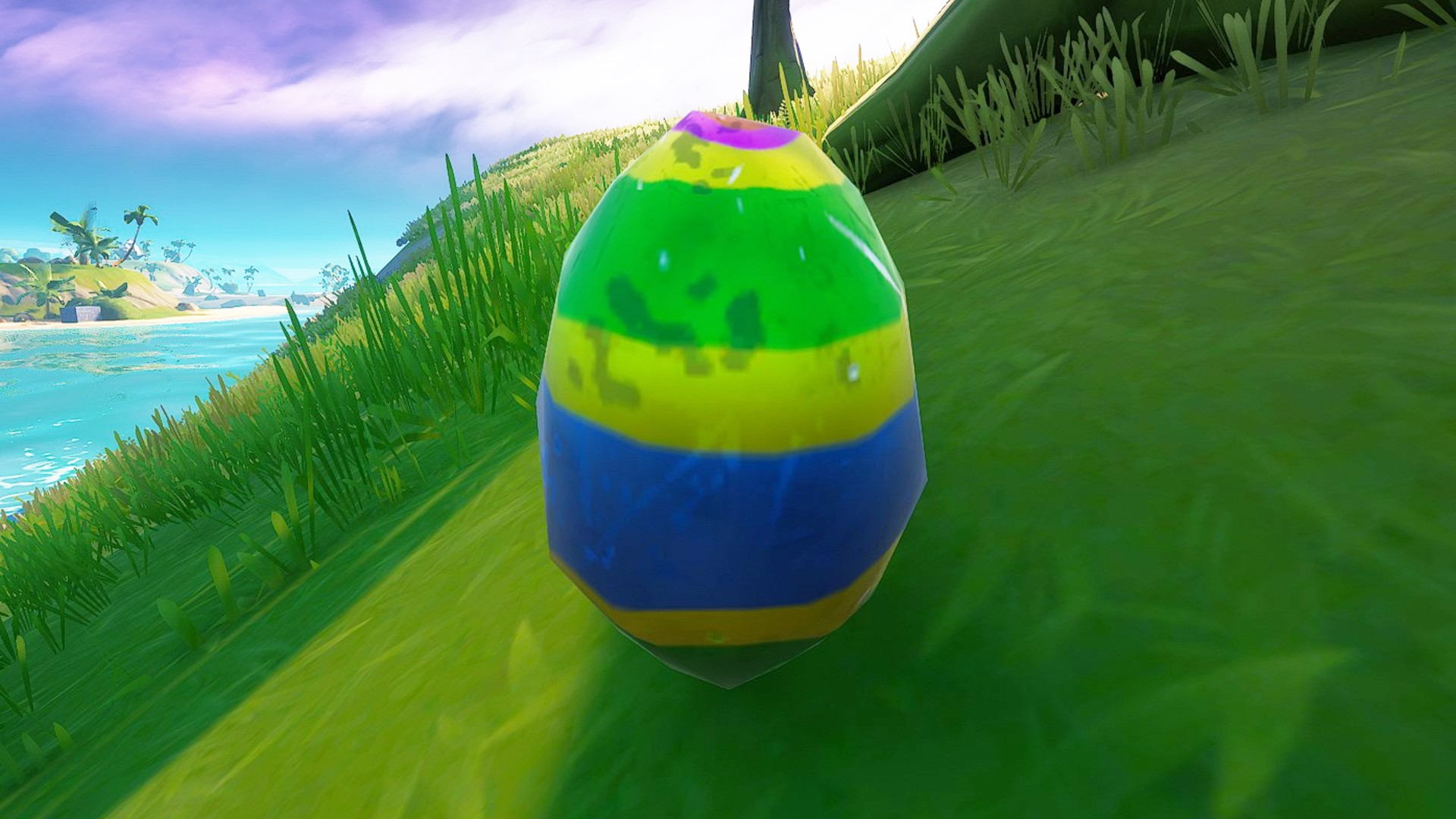 Where to forage bouncy Easter eggs in Fortnite