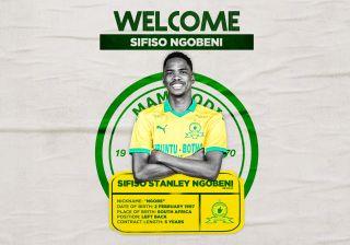 Mamelodi Sundowns new signing Sifiso Ngobeni